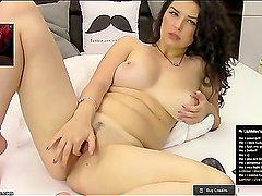 Meadowroyce busty babe private webcam show 15