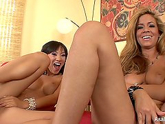 Hanging out with Asa Akira and Isis Taylor