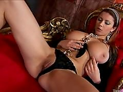 Busty Teen fucking her Pussy