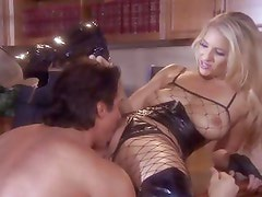 Jordan Kingsley is dripping wet while she's being banged hard