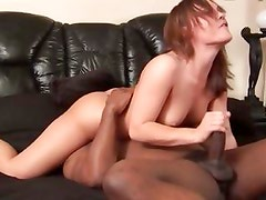 Krystal Jordan goes all out on a black cock and gets her twat washed by tongue