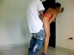 N@k3D Pizza D3LIV3R3Y - Latina has sex with pizza man
