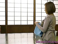 Busty japanese milf getting plowed