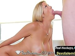 Puremature - Tall MILF Alexis Fawx Fucked and Creampied
