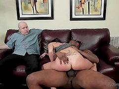 Dava Foxx Interracial Action