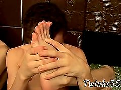 My first gay sex Hung Twinks Tasty Foot Load