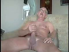 How Hung Daddy Jerking Big Cock
