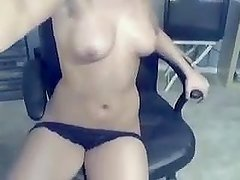 Luna alone at her home - more videos on 888camgirls.com