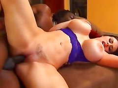 Daphne Rosen takes this hard dick deep in her slot
