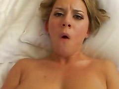 Allie Foster is a good POV fuck for this lucky dude and makes him cream