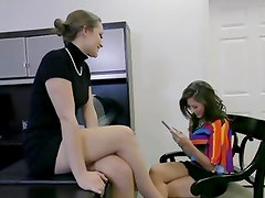 Dani Daniels does naughty things with lesbian partner Shyla Jennings