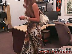 Pale teen fucked on desk first time She