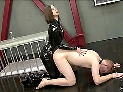 Mistress Steal Lube Me Up