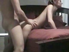 Tight pussy amateur whore loves her moist raunchy behind being pulverized
