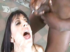 Dylan Ryan enjoys a steaming hot load of cum shot down her throat