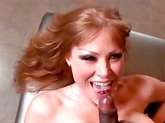 Darla Crane goes at a dick until it shares its cream filling