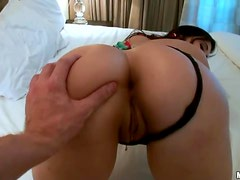 Fucking With The Hot Valerie Kay And Her Big Oiled Up Ass