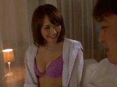 Asian Babe Misuzu Tachibana Gives Brain After Having Her Tits Played With