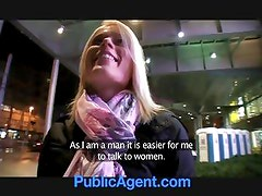 PublicAgent Cute Blonde wins More than she Wanted