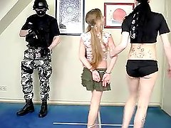 Kacy march handcuffing