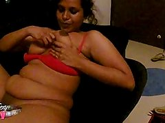 Horny Indian Babe Lily Big Tits Massage