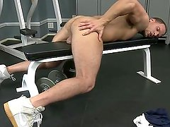 the daily gym workout , with orgasm