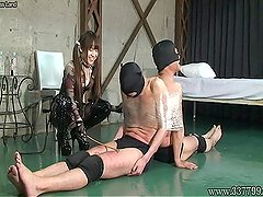 MISTRESS LAND Masochist is dominated by Emiru