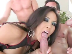 Jessica Bangkok drools over this hard throbbing cock