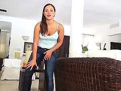 Mandy Wet Blue Jeans