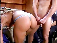 Amy Brooke and Natasha Nice play an  trick on a friend.