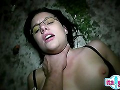 Italian mom and son creampie eating