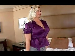 mature milf with big tits gets banged