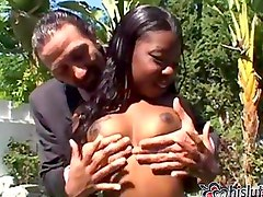 Simone West finds herself the interracial meat in a whitedude sandwich