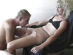 Amateur crossdresser and his lover filming their fucking