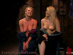 Sizzling Blonde get her Ass Whipped