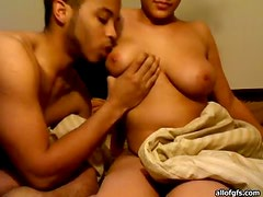 Sexy Ebony Couple Gets Naughty in a Hot Amateur Video