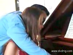 Abusadas - Amazing European Teen Pays Her Piano Lessons In Nature Letting Her Teacher Abuse Her Tight Virgin Pussy