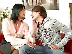 MILF Rich Woman With Teen Boy