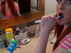 Teen anal with braces and pig tails and