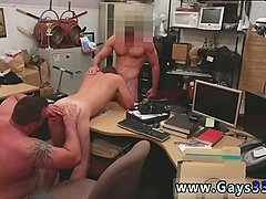 Taboo young straight boy gets first time