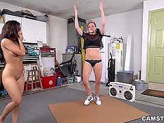 Spoiled Teen Kharlie Stone Gets Her Way with Daddy's Friend (dfmd15476)