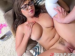 Digital Playground - Teen Couple Have A Quickie Before Parents Come Home