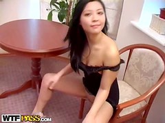 Asian sexdoll seduces her boyfriend