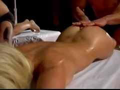 Wild Hotties Jennifer Dark And Sandy Style Get pounded In A Foursome