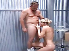 My Favorite Milf fucked in a Warehouse