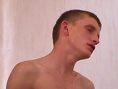 Guy fucks russian busty milf at home and cum over her face