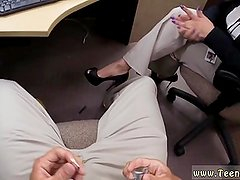 Teen fake tits Foxy Business Lady Gets