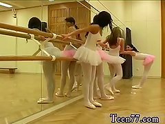 Teen says no Hot ballet doll orgy
