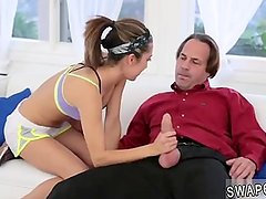 playmate's step daughter caught dad jerking