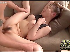 amazing horny big boobs threesome sex 03
